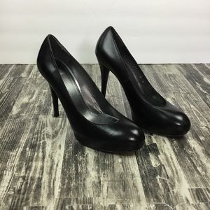 Stuart Weitzman Black Heels Size 9 Leather
